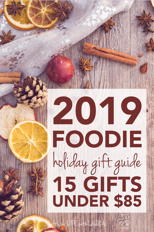 Click for 15 food lover gift basket ideas for the 2019 holiday season. fit foodie gift guide.