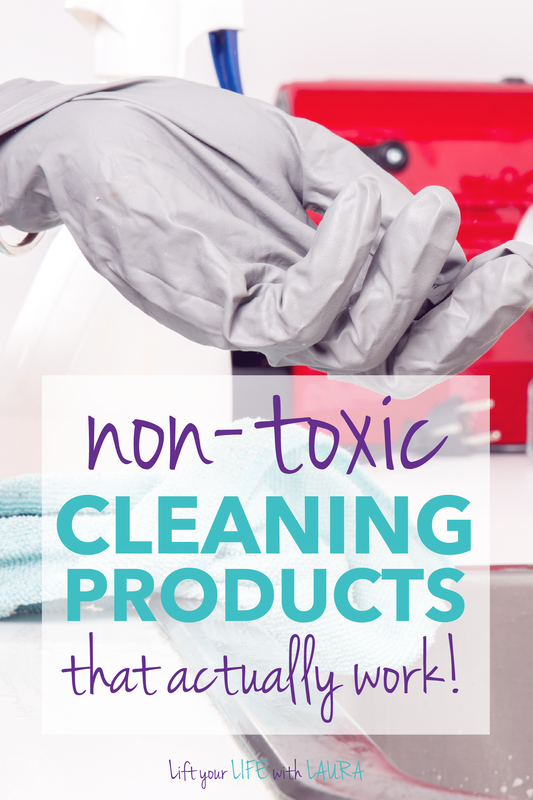 non toxic home products that work.  Great list of natural cleaning products to create a safe healthy home.
